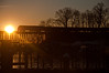 16-359 (George Hamlin) Tags: virginia neabsco railroad passenger train amtrak northeast regional atk 86 amfleet coaches general electric genesis p42 diesel locomotive bridge water trestle sunrise trees silhouette photo decor george hamlin photography