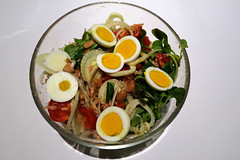 A BOWL OF... mixed salad (Alfredo Liverani) Tags: odcdailychallenge odc daily challenge canong5x canon g5x 117picturesin2017 115117abowlof bowl vegetable veetables salad tomato egg food