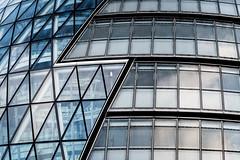 Political Lightning (Sean Batten) Tags: architecture londonassembly london england unitedkingdom gb windows glass city urban abstract nikon d800 70200 blue grey cityhall politics
