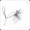 Winter flower (Nanooki ʕ•́ᴥ•̀ʔっ) Tags: monochrome mono flower highkey whitebackground blackandwhite creative