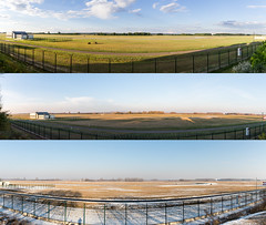 Spotterdomb panorama in different seasons (czirokbence) Tags: panorama spotterdomb lhbp seasons winter summer autumn canon