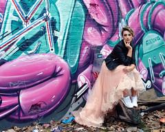 Fashion Shoot in Star Yard (scats21) Tags: streetart shoreditch london model fashionshoot staryard hnrx
