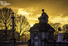Orange sky (Lonely Soul Design) Tags: paris concorde statue sunset sky orange magical light horse architecture france