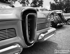 Edsel Grill (FilmAmmo) Tags: paulhargett filmammo salinaks carshow mediumformat pentax6x7 film 120 ilfordpanf