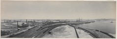 Panorama of Newcastle from the Dyke, 1904 / by Melvin Vaniman (State Library of New South Wales collection) Tags: statelibraryofnewsouthwales panorama