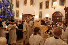 035. Nativity of the Lord at Lavra / Рождество Христово в Лавре 07.01.2017