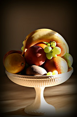 2017 Fruit Bowl Shadows (dominotic) Tags: fruitbowl food fruit 2017 sydney australia bowloffruit banana grapes orange apple lime lemon citrusfruit peach kiwifruit apricot stonefruits grapefruit stilllife shadow