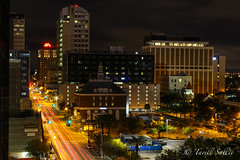 N Florida Ave, Tampa. January 2017 (tarell_sallie) Tags: tampa florida hillsborough hillsboroughcounty tampabay skyline skyscraper skyscrapers buildings building highrise bay bayarea canon canont3i macbook lightoom macbookpro edit copyright lighttrails cartrails trippy spectacular beautiful usa unitedstates america unitedstatesofamerica january 2017 community city urban landscape travel photography exposure longexposure slowexposure business hotel bank conventioncenter streetlight traffic trafficlight courthouse policedepartment visittampa visittampabay park riverwalk