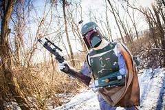 IMG_2034 (Johnny Applesauce) Tags: boba fett esb empire strikes back cosplay 501 501st snow costume kit mandalorian