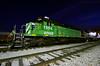 Backbone of the Fleet (Jeff Carlson_82) Tags: bnsf burlingtonnorthernsantafe 1968 cs emd sd402 nightphotography night bluehour outshopped topeka ks kansas train railfan railroad railway