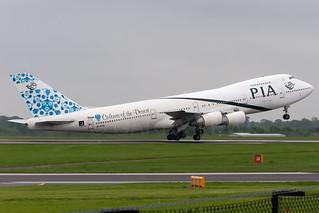 PIA Pakistan International Boeing 747-200M AP-BAK