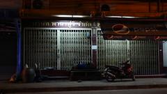 A place to park and sleep - Bangkok (ashabot) Tags: thailand bangkok people peopleoftheworld bangkokstreetscene streetscenes street walkabout worldcities night nightlights nightshots shadowsandlight darklight darkly