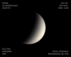 a1zWEB (astrorock999) Tags: venus planet planète imagerie plnétaire imaging planetary c11 asi224mc adc