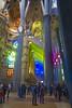 Sagrada Familia (Gustavo Estevez) Tags: sagrada familia barcelona gaudi arquitectura colores iluminación templo expiatorio basílica