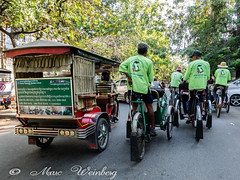 TOURIST TRANSPORTATION....BY TUK TUK OR CYCLO BIKE TOUR  Phnom Penh, Cambodia    P1130688.jpg (Marc Weinberg) Tags: tourist transportation tuktuk bike bicycle ecotour phnompenh cambodia travel travelagent adventuretravel photojournalism photojournalist freelance getolympus omdem1 peoplepower footpower nopolution cleanair streetscene downtheroad acrosstown cheaptransportation