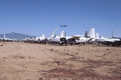 Lockheed P-2 Neptunes at Consolidated Aircraft Salvage, Tucson, AZ (Nov 1981) (Digital Log Book) Tags: 1981 lockheed neptune usnavy usn masdc lockheedneptune sp2e nasolathe buno131463