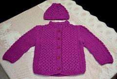 Tejido por mi esposa. (jagar41_ Juan Antonio) Tags: lana abrigo campera suter