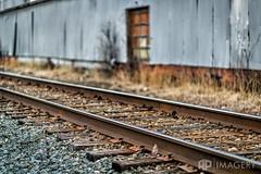 Tracks By Warehouse (AP Imagery) Tags: railroad abandoned train kentucky ky tracks rr warehouse owensboro urbex americanforging