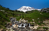 Mt. Rainier in Spring (joetografer) Tags: seattle mountain washington nationalpark rainier mtrainier