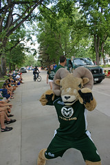 4th of July Parade 2015 (City of Fort Collins, CO) Tags: street blue friends red music white kids america fun community colorado university state fort trolley flag cam crowd families july parade bands marching ram fourth collins floats csu