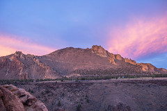 Sunset at Smith Rock (Justin Knott) Tags: