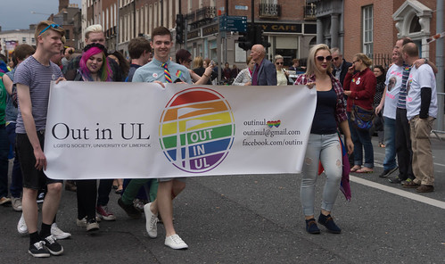 DUBLIN 2015 LGBTQ PRIDE PARADE [OUT IN THE UNIVERSITY OF LIMERICK] REF-105948