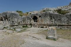 40078297 (wolfgangkaehler) Tags: italy greek italian europe european tomb unescoworldheritagesite limestone syracuse sicily tombs archeologicalpark sicilian greekruins sicilyitaly