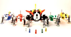 Voltron: Defender of the Universe (Trooper10.0) Tags: lego voltron mecha