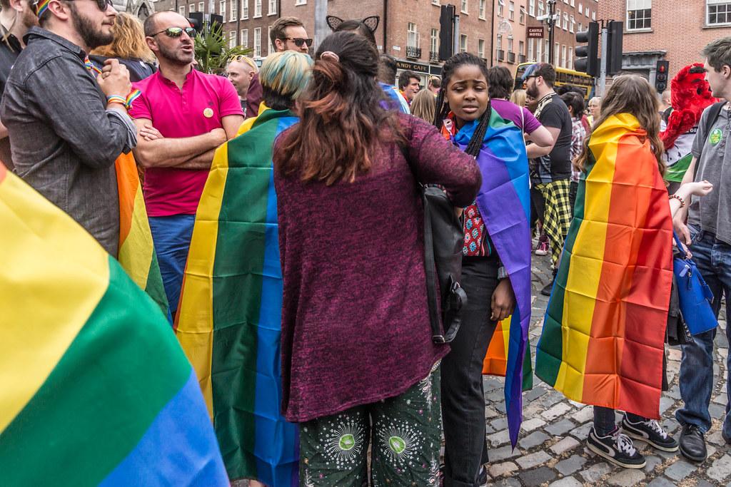 DUBLIN 2015 LGBTQ PRIDE PARADE [WERE YOU THERE] REF-105963