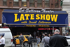 Letterman's last day (DC Products) Tags: newyorkcity newyork manhattan broadway lateshowwithdavidletterman edsullivantheater 2015