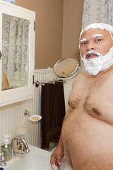 FoamFaceTest-4x6-8908 (Mike WMB) Tags: bear goatee cub belly foam barbasol