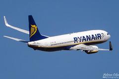 Ryanair --- Boeing 737-800 --- EI-EFL (Drinu C) Tags: plane aircraft aviation sony boeing ryanair dsc mla 737800 lmml eiefl hx100v adrianciliaphotography