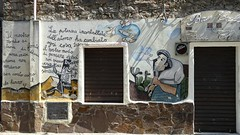 ... potere (leonardo4it) Tags: politics einstein murales orgosolo atomo potere