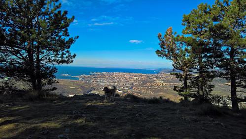 Trieste vista da San Servolo (Slovenia)