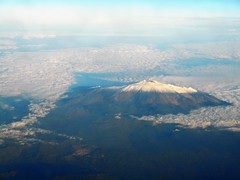 Mount Etna (navejo) Tags: mountetna betweenmaltaandberlin intheair malta airplane ryanair flying snowcapped fromabove december 2016 navejo