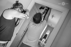 MAKING KAFKA_38 (Almu_Martinez_Jiménez) Tags: makingoff kafka proceso teatro exposición black white photo raro friends working team espejo blanco y negro maquillaje video fotografía