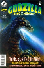 Godzilla: King of the Monsters #11 (1996), cover by Bob Eggleton (Tom Simpson) Tags: godzilla bobeggleton kaiju comics illustration comicbook vintage art 1996 1990s darkhorsecomics painting godzillakingofthemonsters