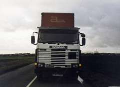 Scania 143m 450 (Betapix) Tags: truck trucks lorries hgv lgv 1 2 3 artic trailer