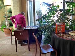 Jigsaw puzzle corner at Lauritzen Gardens (ali eminov) Tags: omaha nebraska gardens botanicalcenters lauritzengardensomahabotanicalcenter puzzles jigsawpuzzles people women catherine