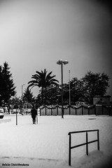 Kavala in snow (Nafsika Chatzitheodorou) Tags: kavala ilovekavala snow weather black white blue bnw blackandwhite city cavalla greece cold winter town port castle old snowday snowy snowing snowflake snowwhite letitsnow people nafaki photography street art sonya6000 sonyalpha sonycamera sony teamsony fujian 35mm lens