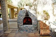 20161214   Outdoor Fireplace at Wooddale Village (lasertrimman) Tags: 20161214 wooddale village retirement community wooddalevillageretirementcommunity suncity az fireplace ruth
