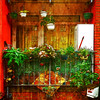 slightly different (j.p.yef) Tags: peterfey jpyef yef urban house balcony germany red hamburg digitalart textur
