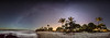 Fantasy Island (Traylor Photography) Tags: coconuttree hawaii milkyway stars panorama nightlife waves hilton palm beach fantasyisland lightpollution citylights hotel vacation longexposure landscape coral bigisland anaehoomalupoint constellation waikoloavillage unitedstates us