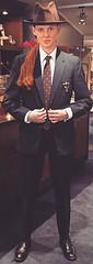 Ashley (bof352000) Tags: woman tie necktie suit shirt fashion businesswoman elegance class strict femme cravate costume chemise mode affaire