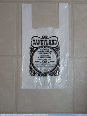 CANDYLAND Bag (TheTransitCamera) Tags: candyland plastic disposable bag shopping retail store chain consumer goods
