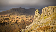 Eskdale needle (Ade G) Tags: rock light mountains