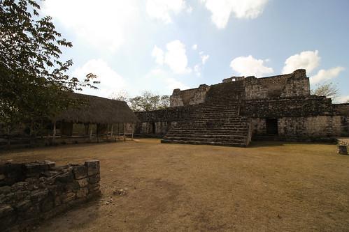 Estructura 17, Las Gemelas, Ek Balam