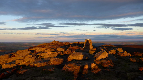 Day end on Bennachie