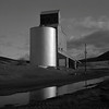 Grain Elevator, Washington (austin granger) Tags: grainelevator washington delaneyelevator dayton ice winter rural farm farming crop telephonepole agriculture square film gf670