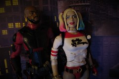 """Stay Evil Dollface..."" (Toyz in the attic) Tags: suicidesquad dcmultiverse dceu movie harleyquinn deadshot willsmith margotrobbie floydlawton harleenquinzel"